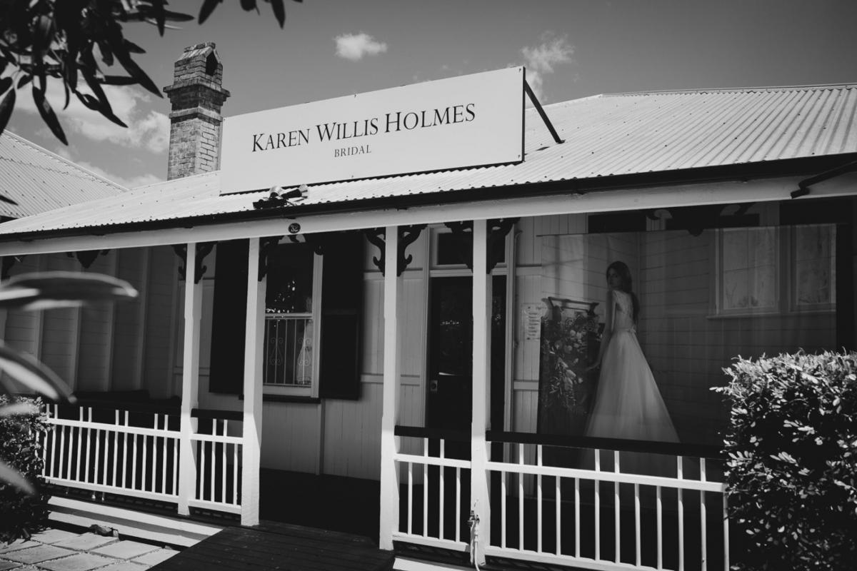 Karen Willis Holmes bridal boutique - Brisbane