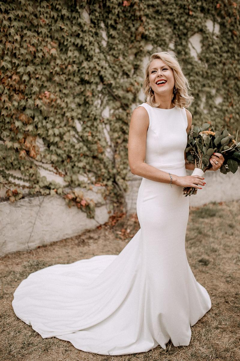 Read all about our real bride's wedding in this blog. She wore the WILD HEARTS Paris gown by Karen Willis Holmes.