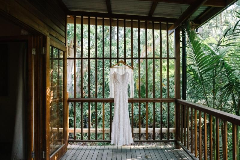 Read all about our real bride's wedding in this blog. She wore the LUXE Anya gown by Karen Willis Holmes.
