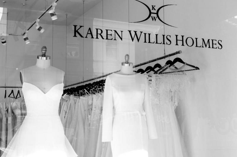 Karen Willis Holmes bridal boutique - Melbourne