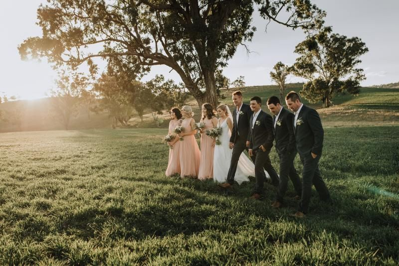 Real bride Hayley wore the Wild Hearts Nadia wedding dress by Karen Willis Holmes.