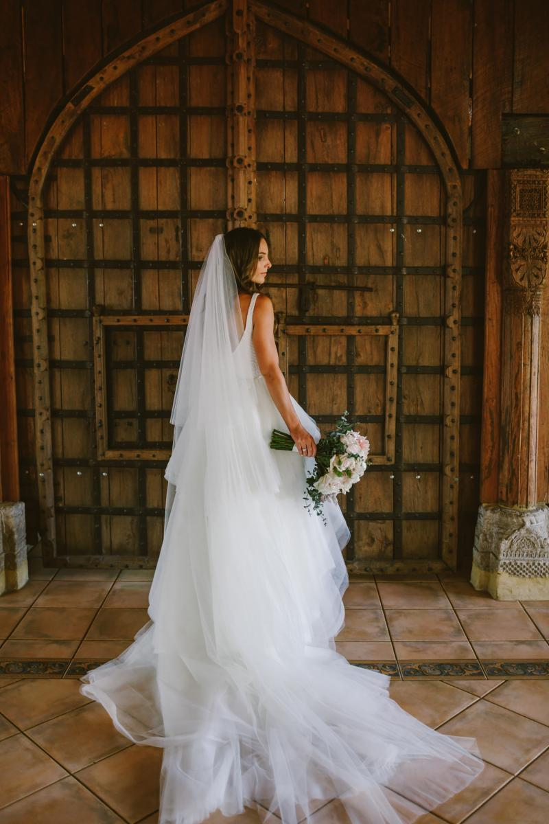 Read all about our real bride's wedding in this blog. She wore the BESPOKE Rosaline/Marina wedding dress by Karen Willis Holmes.