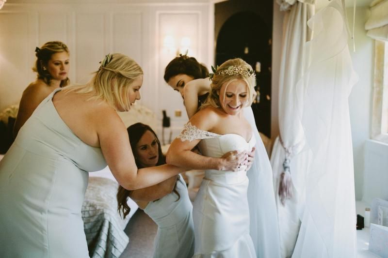 Read all about our real bride's wedding in this blog. She wore the Bespoke Blake/Mimi wedding dress by Karen Willis Holmes.