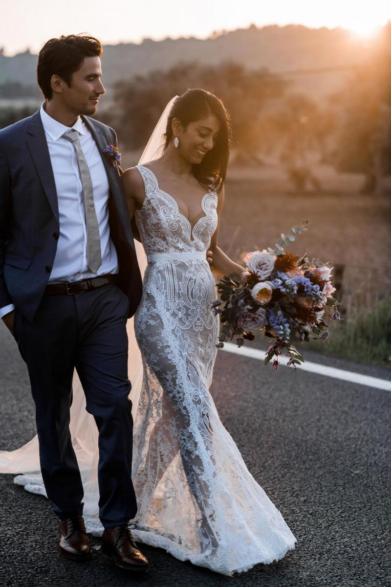 Read all about our real bride's wedding in this blog. She wore the Bespoke Rosemary wedding dress by Karen Willis Holmes.