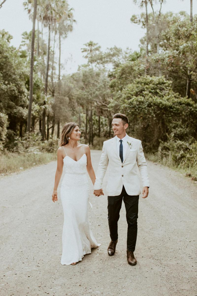Read all about our real bride's wedding in this blog. She wore the Luxe Darcy wedding dress by Karen Willis Holmes.