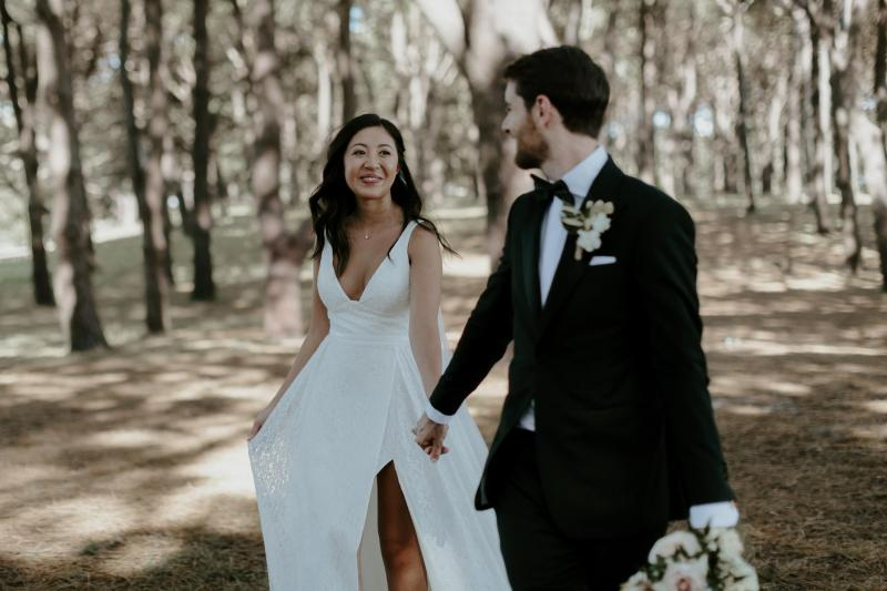 Read all about our real bride's wedding in this blog. She wore the Wild Hearts Nadia wedding dress by Karen Willis Holmes.