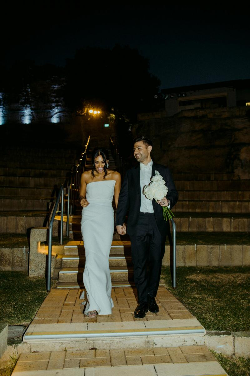 Read all about our real bride's wedding in this blog. She wore the Wild Hearts Lauren wedding dress by Karen Willis Holmes.