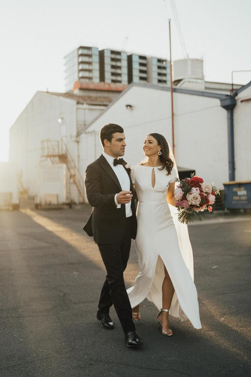 Read all about our real bride's wedding in this blog. She wore the Wild Hearts Clarissa wedding dress by Karen Willis Holmes.