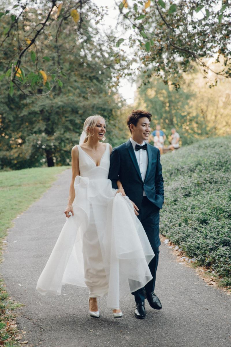 Read all about our real bride's wedding in this blog. She wore the Bespoke Aisha wedding dress by Karen Willis Holmes.