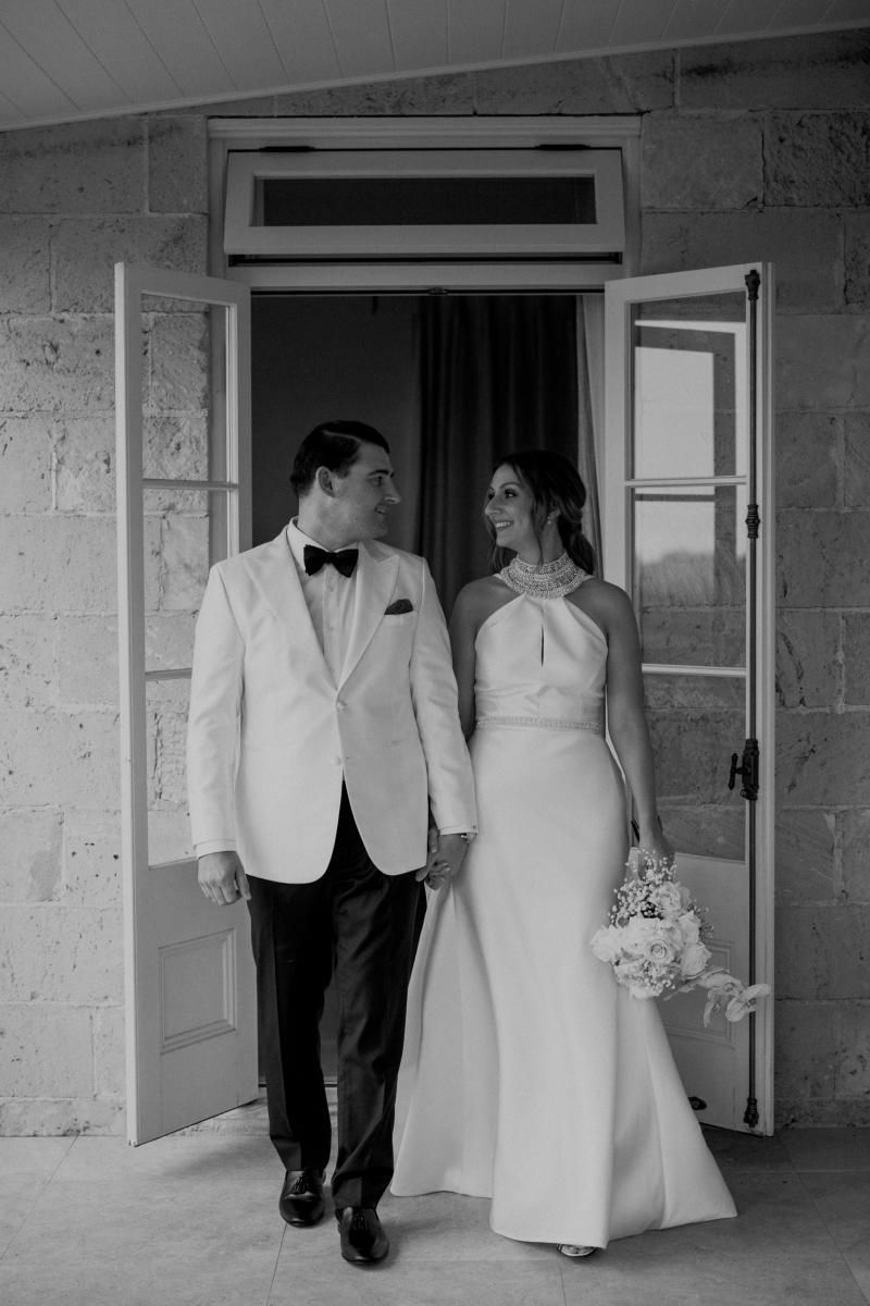Read all about our real bride's wedding in this blog. She wore the Bespoke Layne wedding dress by Karen Willis Holmes.