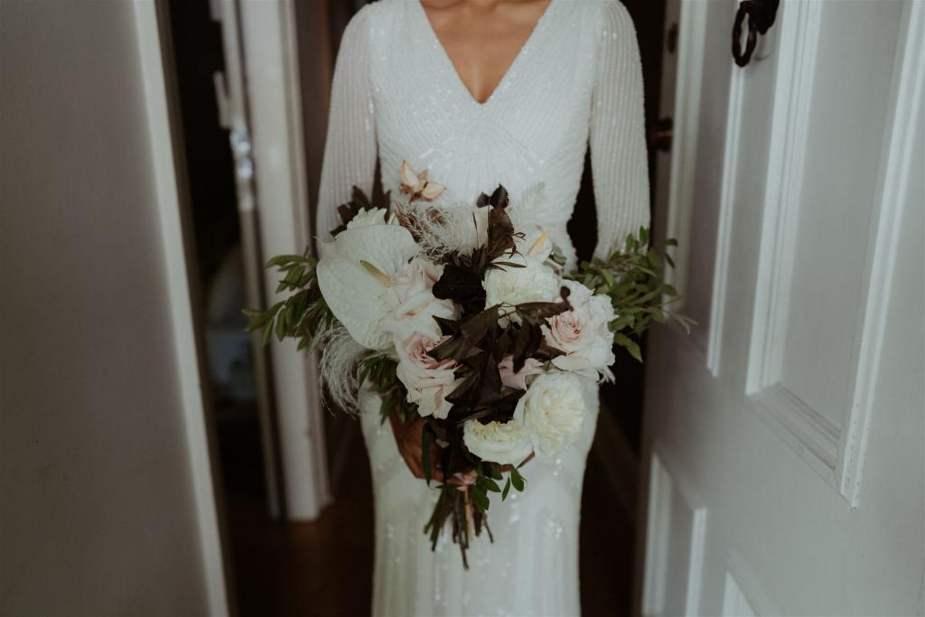 Cassie | Beaded Wedding Dress | Karen Willis Holmes