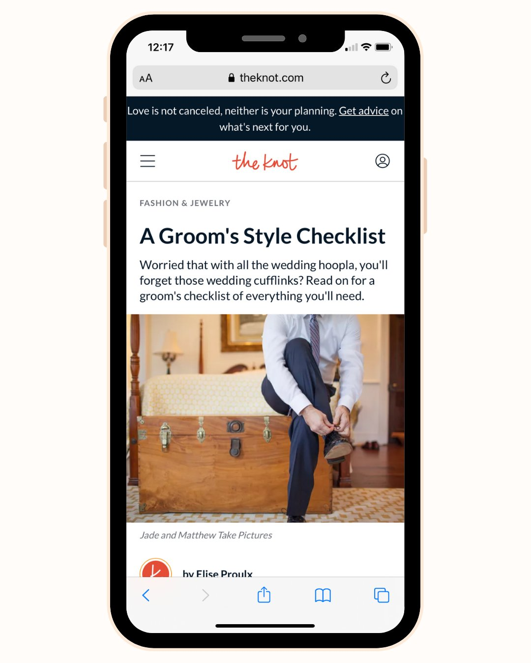Grooms attire checlist for wedding day