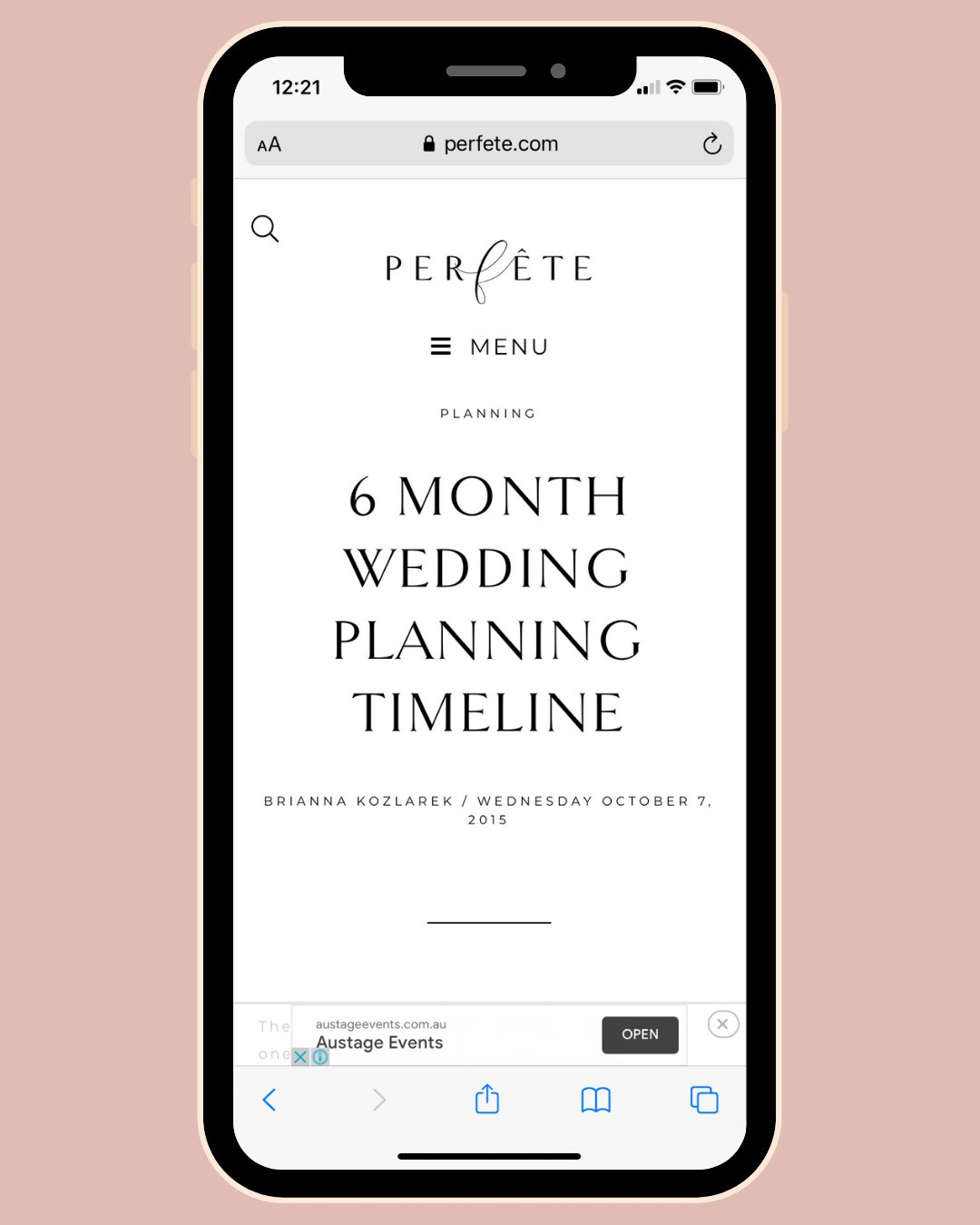 6 month wedding planning timeline