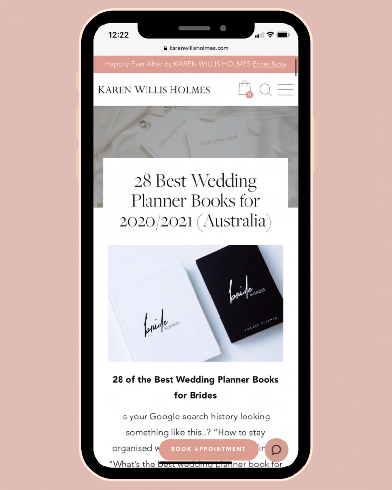 ultimate guide for wedding planning books by KWH